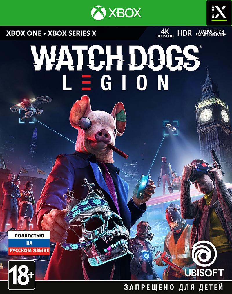 Игра Watch Dogs Legion для Xbox