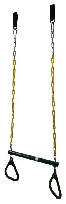 Трапеция Капризун на цепях зеленая SA 023