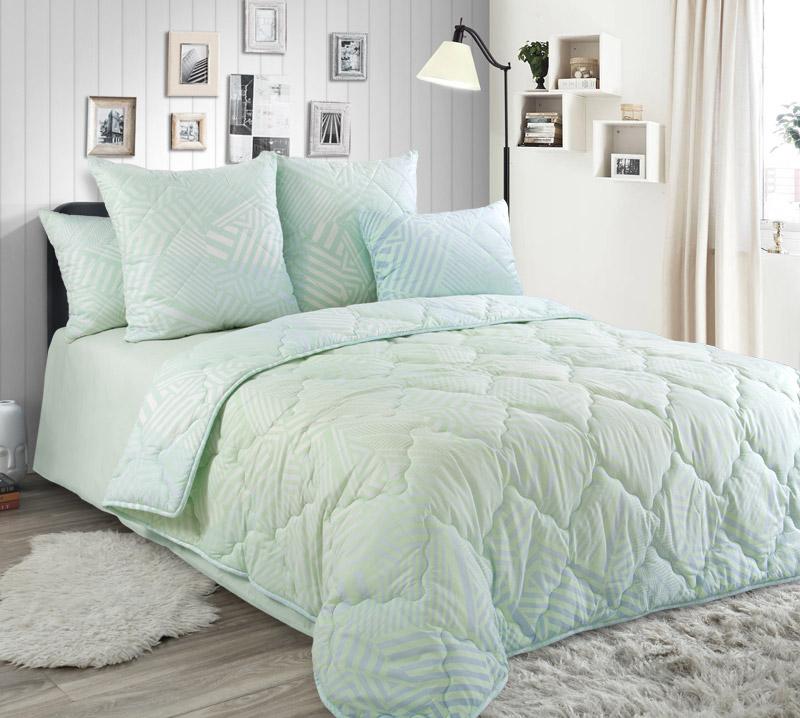 Одеяло 172х205 Эвкалипт, теплое, перкаль 300 гр.