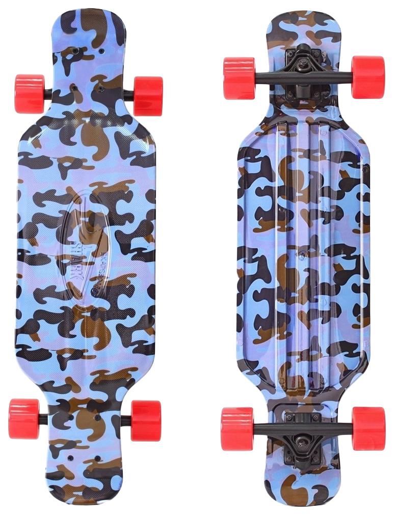 Скейтборд Y SCOO Longboard Shark Tir