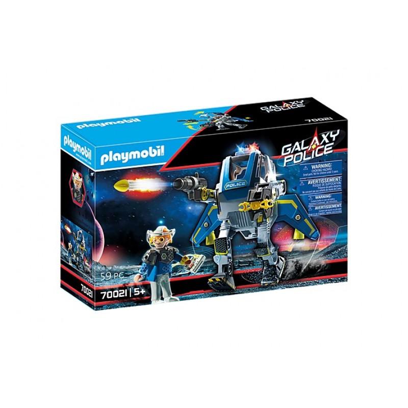 Купить Галактическая полиция, Конструктор Playmobil Полицейский робот Галактики 70021,