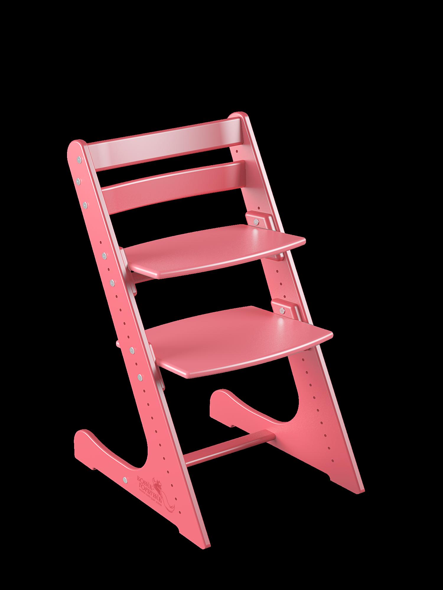 Детский растущий стул Конек Горбунек Комфорт Коралловый