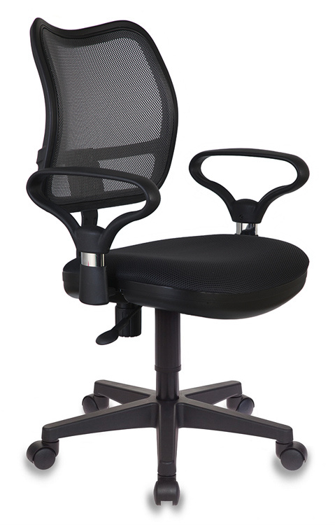 Компьютерное кресло Бюрократ 664035 CH-799AXSN/TW-11 60х56х104 см, черный