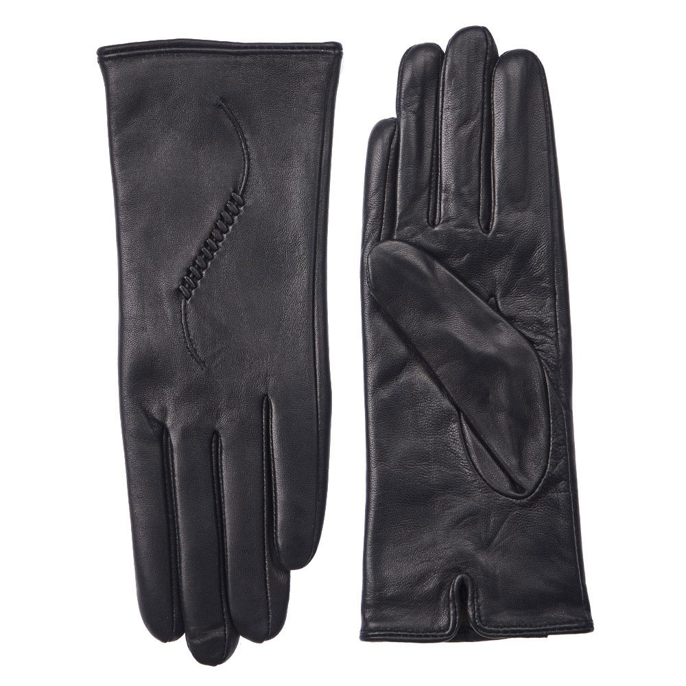 Перчатки женские Dr.Koffer H660126-236 черные 7 фото