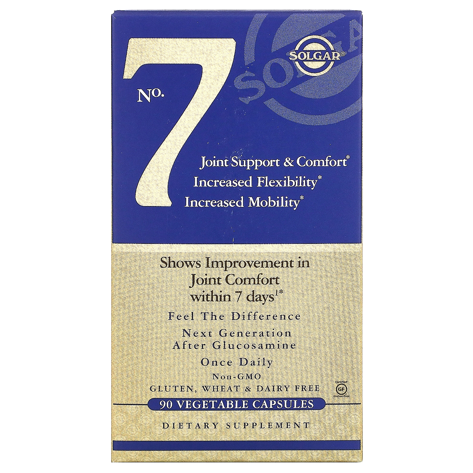 No.7 Joint Support  Comfort Solgar капсулы 90 шт.