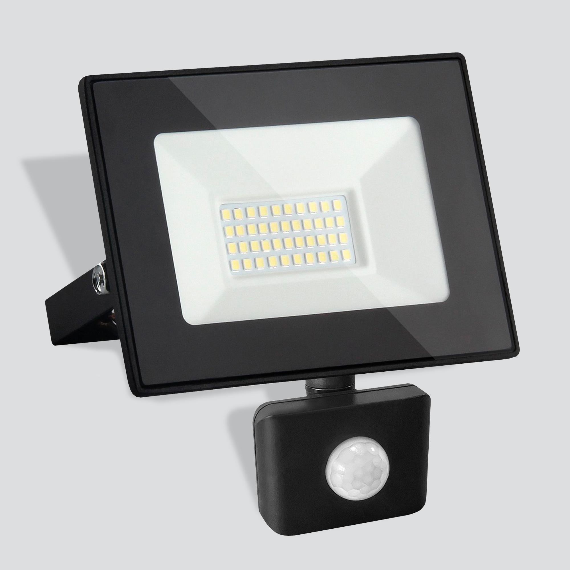 Уличный светодиодный прожектор Elektrostandard 50W 6500K IP44
