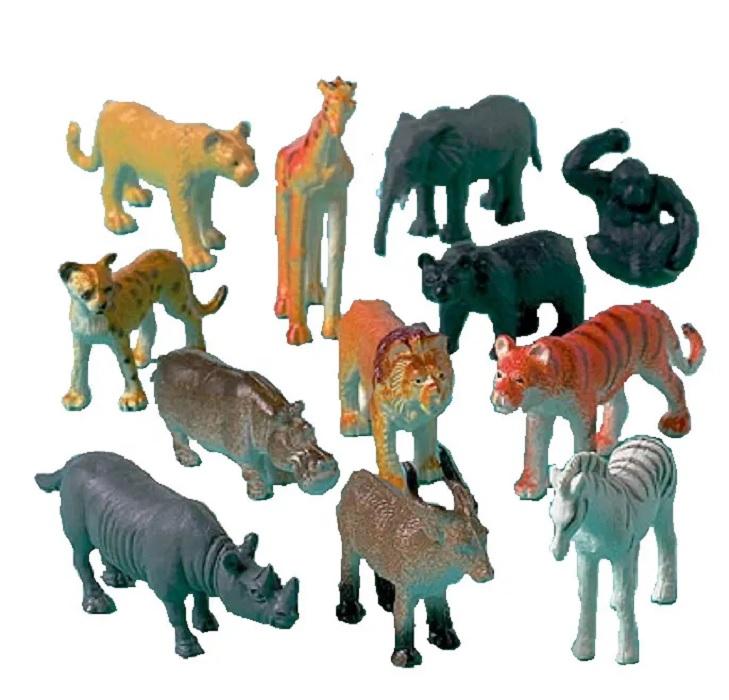 Купить Фигурки Amscan Животные Джунгли ассорти 12шт ЕУТ_1507-0786(3-2),