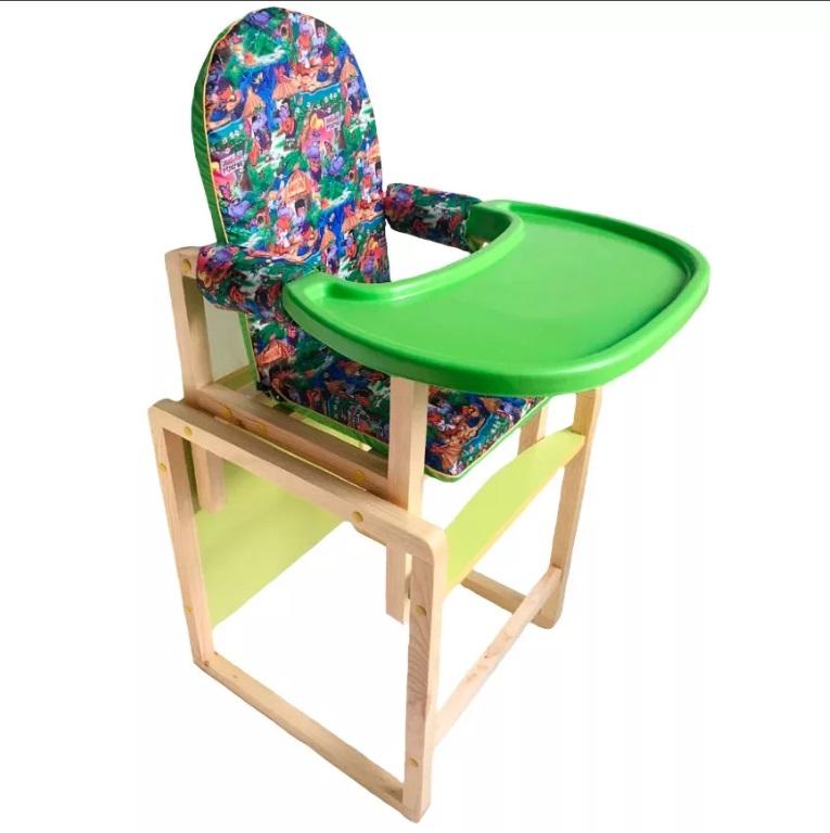 Стол-стул для кормления Вилт Джунгли зеленый