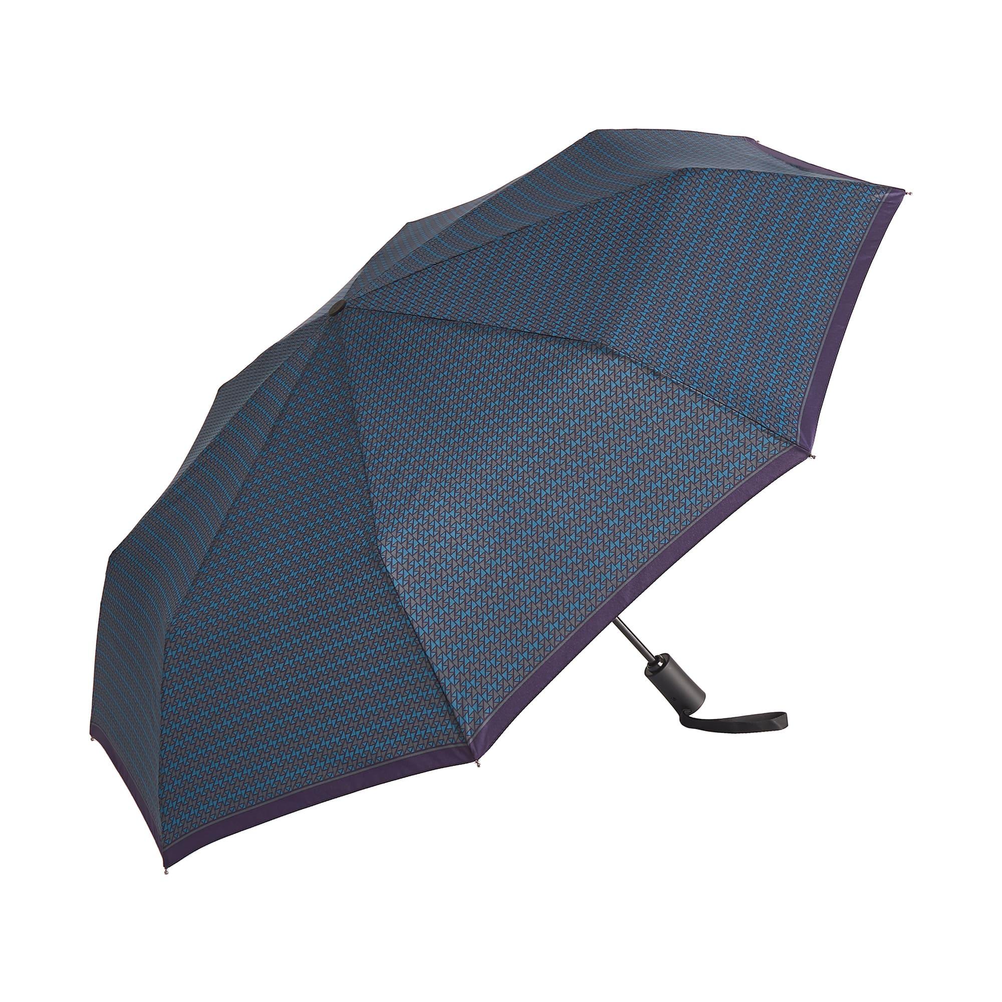 Зонт складной мужской автоматический Dr.Koffer E417 синий