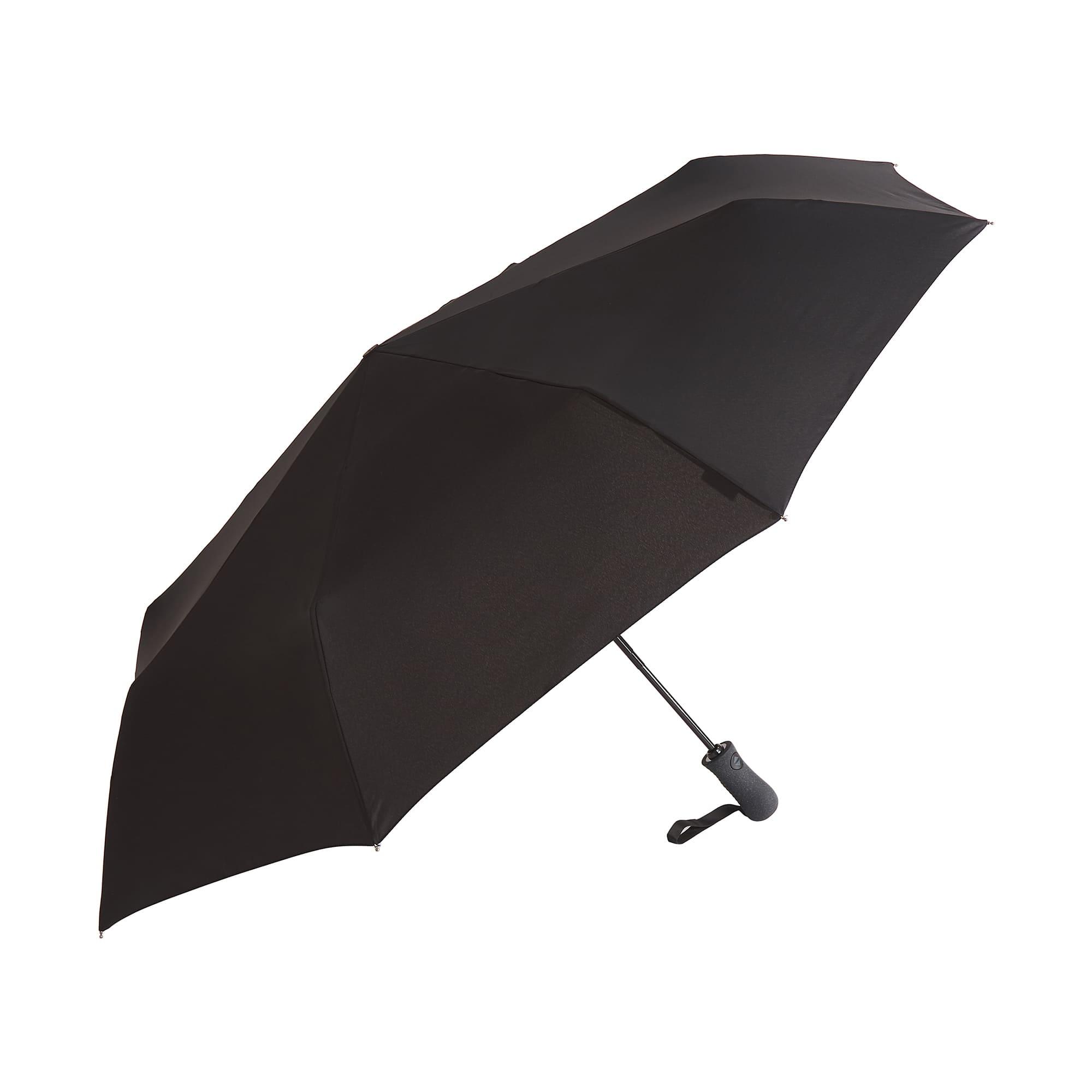 Зонт складной мужской автоматический Dr.Koffer E418 черный