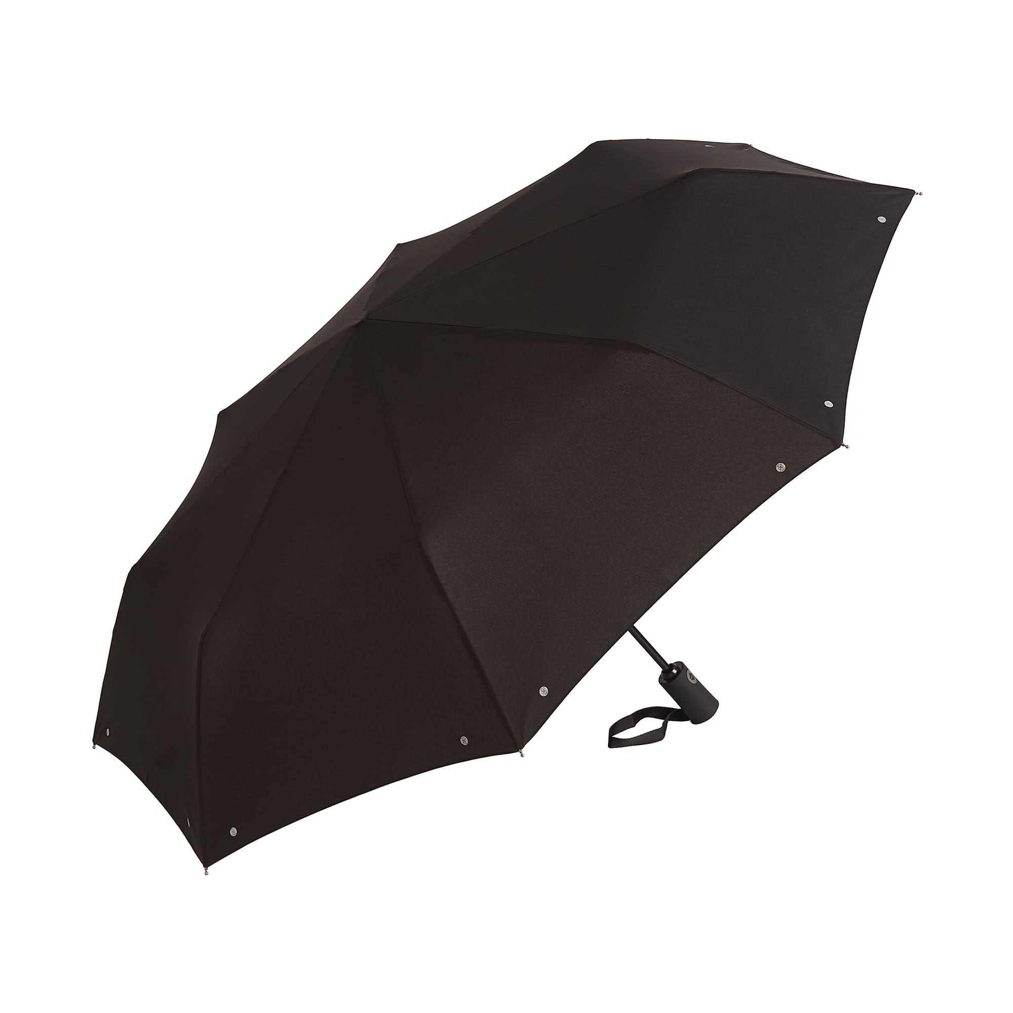 Зонт складной мужской автоматический Dr.Koffer E422 черный