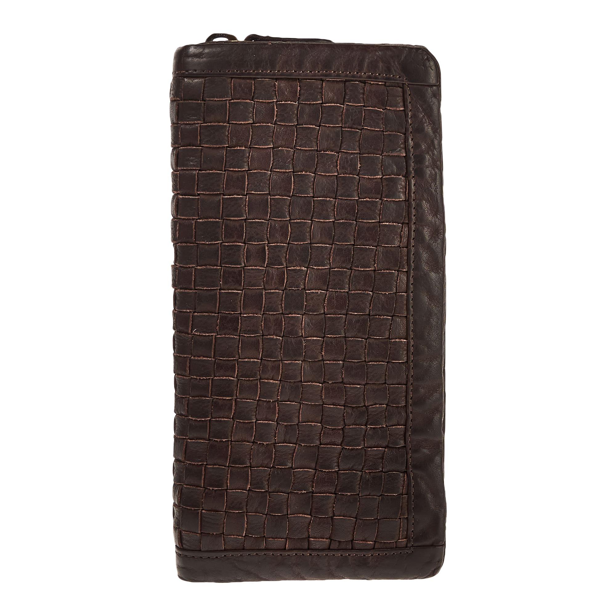 Портмоне мужское Dr.Koffer X510412-248 темно-коричневое