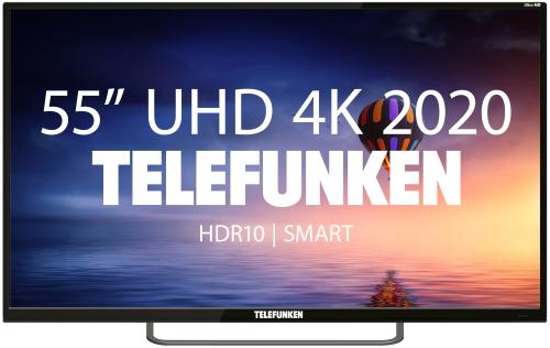 LED Телевизор 4K Ultra HD Telefunken TF-LED55S19T2SU