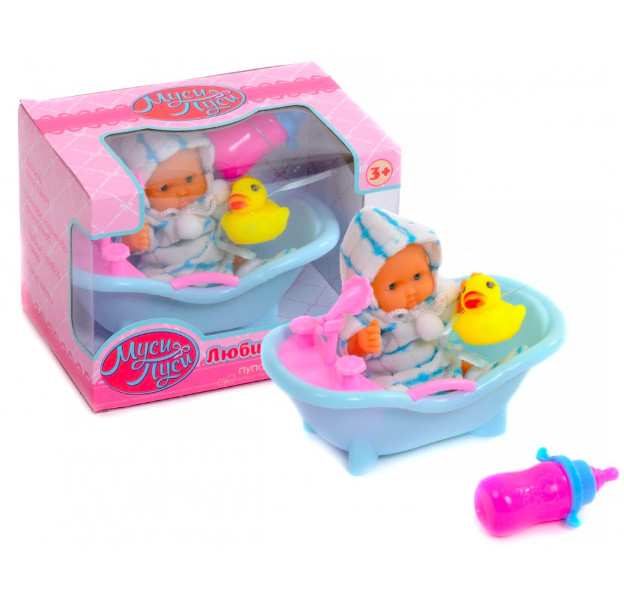Пупс Муси-Пуси Любимый малыш в ванночке IT103764