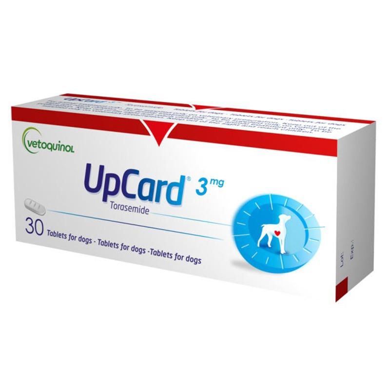 Таблетки VETOQUINOL АпКард 3мг 30таб