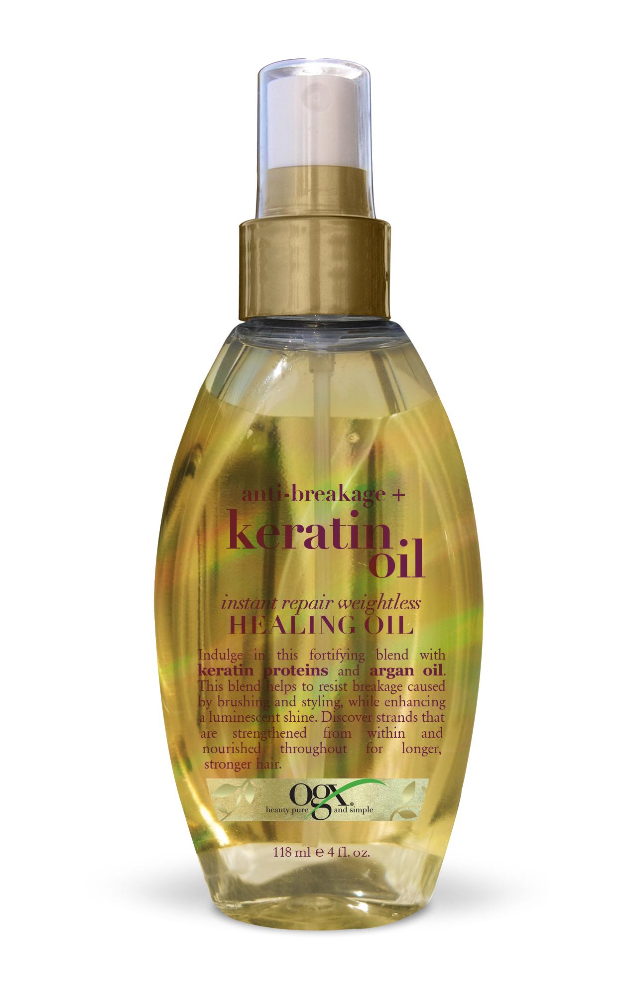 Масло для волос OGX Anti Breakage Keratin
