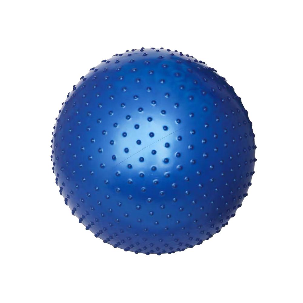 Мяч гимнастический массажный Джамбо Тойз, синий,