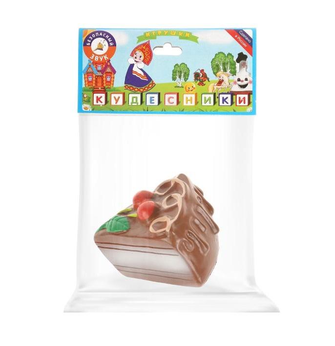 Резиновая игрушка Пироженое ЗАО ПКФ Игрушки