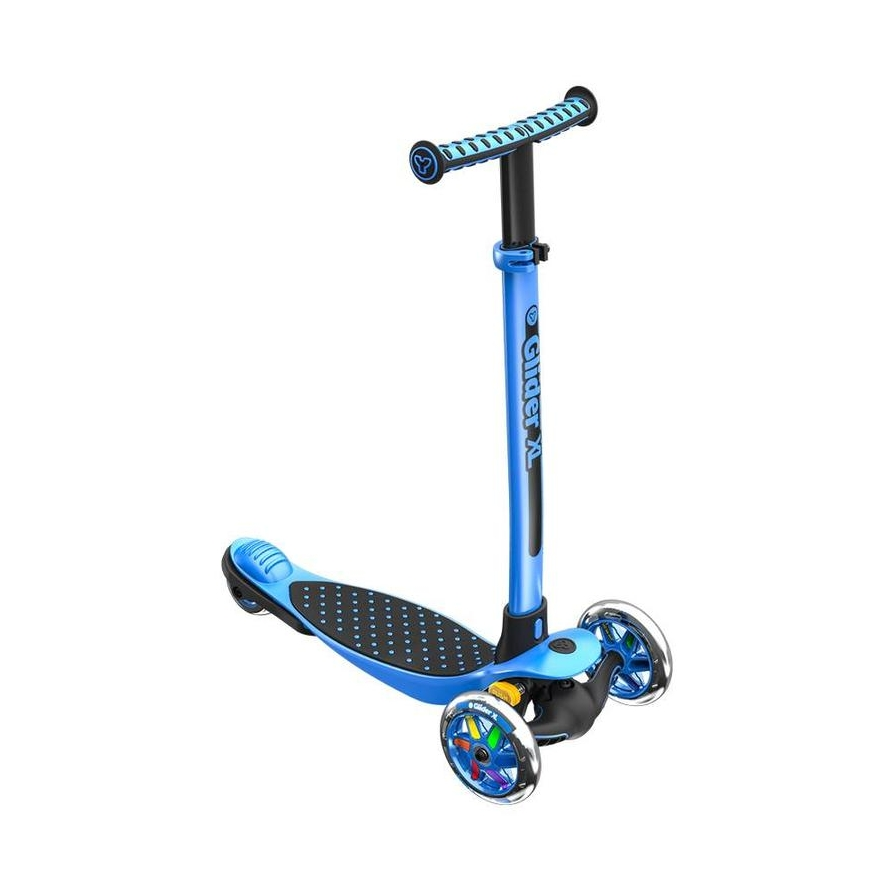 Купить Самокат Glider XL черно-синий Yvolution,