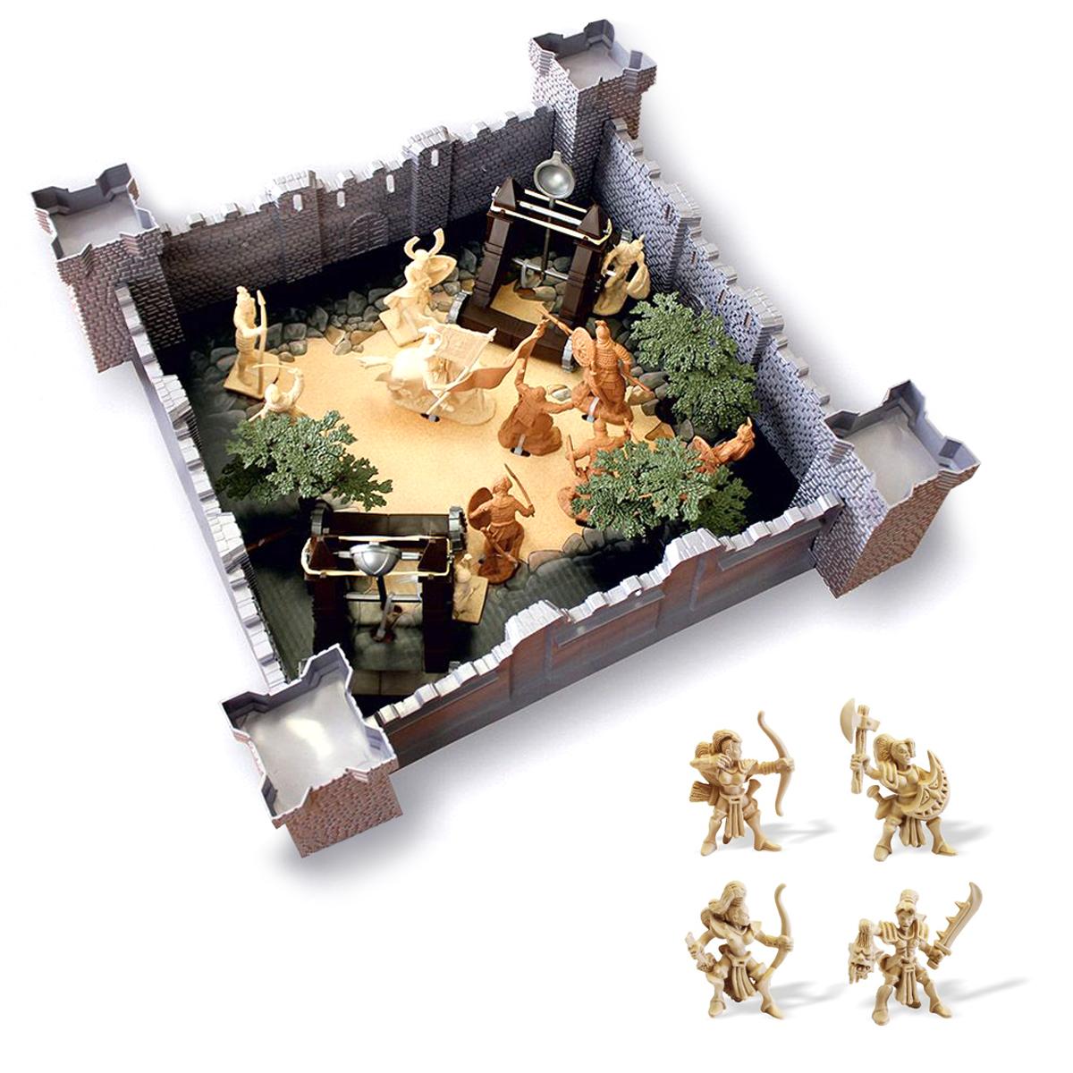 Купить Игровой набор 1291 (Год взятия крепости) 12062 + Игровой набор Амазонки 12068, Биплант,