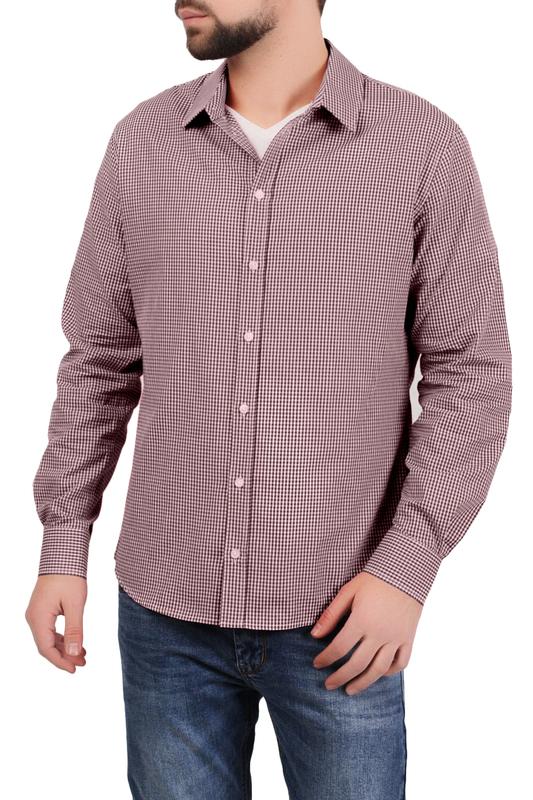Рубашка мужская Tom Farr 7019.25_S18 красная S