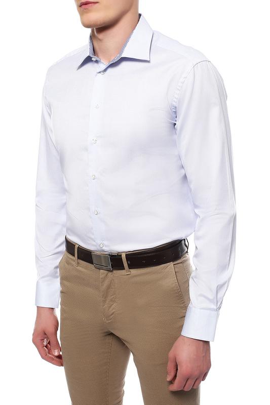 Рубашка мужская Sand XO SS17 8660 DETAILS - GORDON SC синяя 44 EU