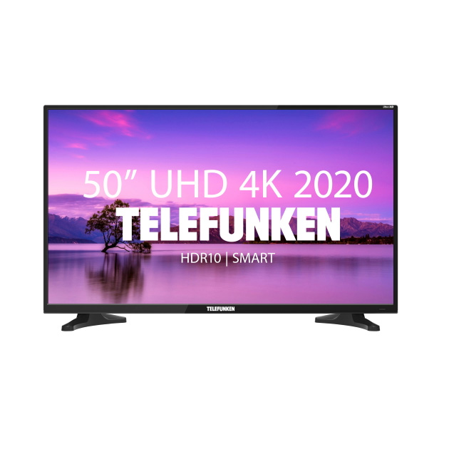 LED Телевизор 4K Ultra HD Telefunken TF-LED50S56T2SU