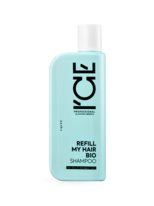 Купить Шампунь ICE by NATURA SIBERICA 4630079566730 для сухих и повреждённых волос 250 мл, ICE Professional by NATURA SIBERICA