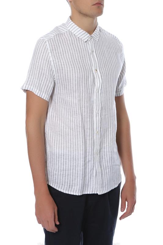 Рубашка мужская CUDGI STU 1816 белая 50 IT