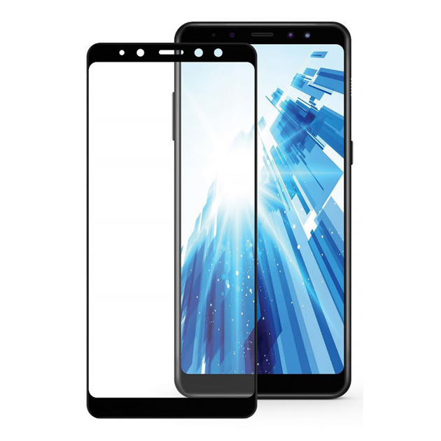 Защитное стекло для смартфона CaseGuru Glue Full Screen для Samsung Galaxy A8 Plus 2018 Bl