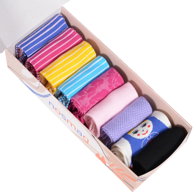 Набор носков женский VIRTUOSO Ви9ж-4 разноцветный 23-25 (36-39)