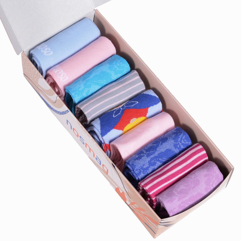 Набор носков женский VIRTUOSO Ви9ж-5 разноцветный 23-25 (36-39)