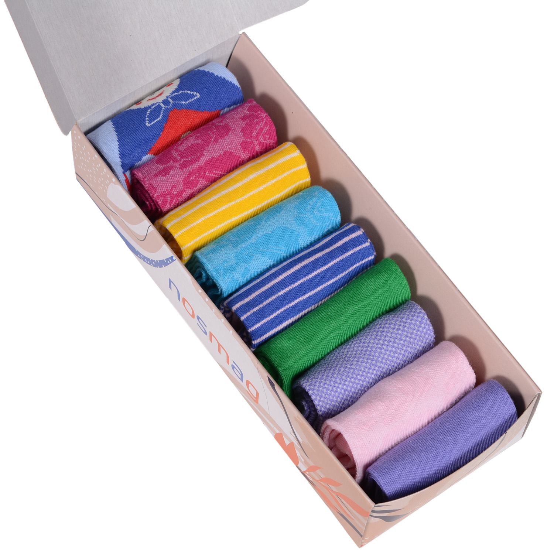 Набор носков женский VIRTUOSO Ви9ж-7 разноцветный 23-25 (36-39)