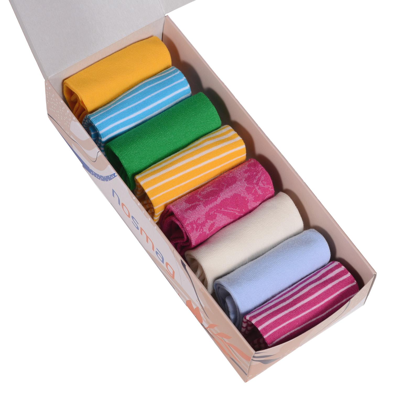 Набор носков женский VIRTUOSO Ви8ж-5 разноцветный 23-25 (36-39)
