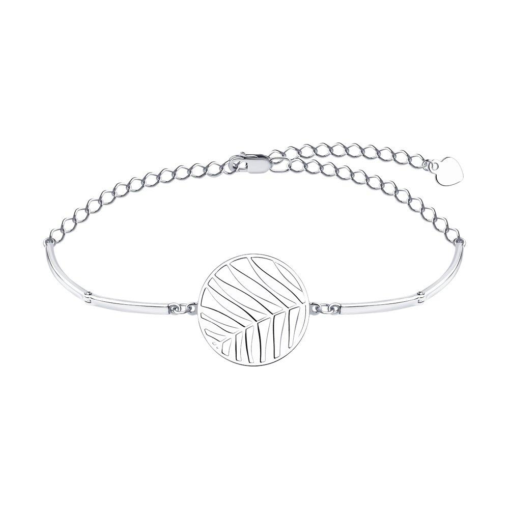 Браслет из серебра р. 16 Diamant 94-150-00752-1
