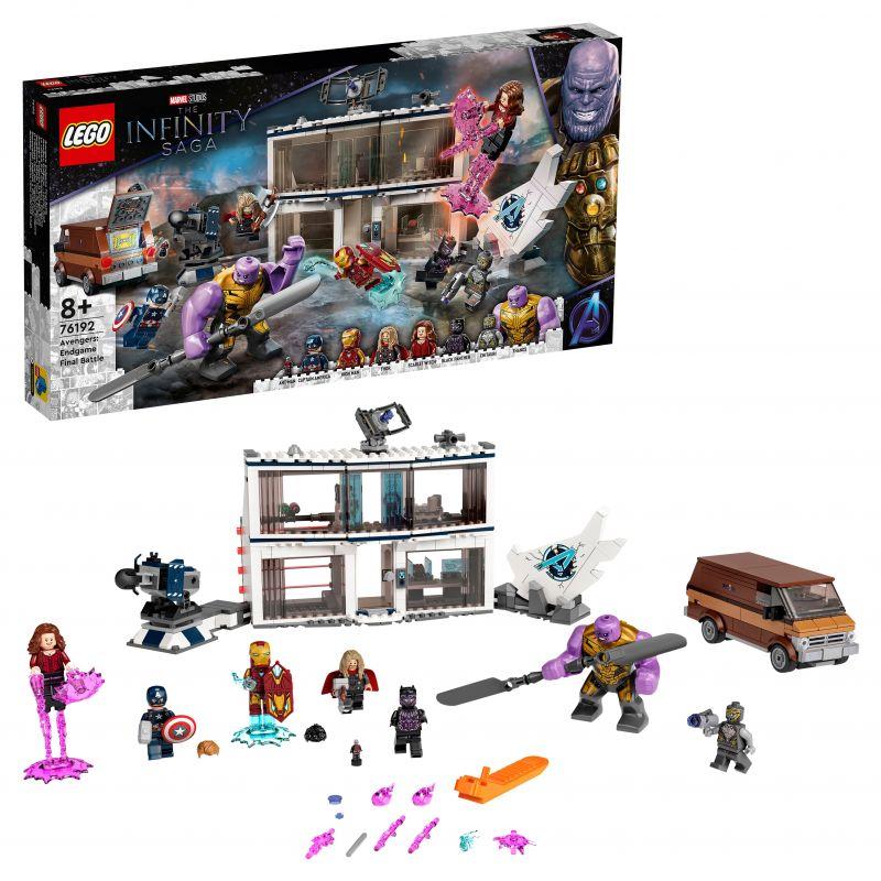 Купить Конструктор LEGO Marvel Avengers Movie 4 76192 «Мстители: Финал» — решающая битва,