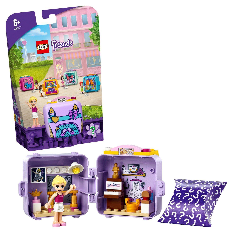 Купить Конструктор LEGO Friends 41670 Кьюб для балета Стефани,