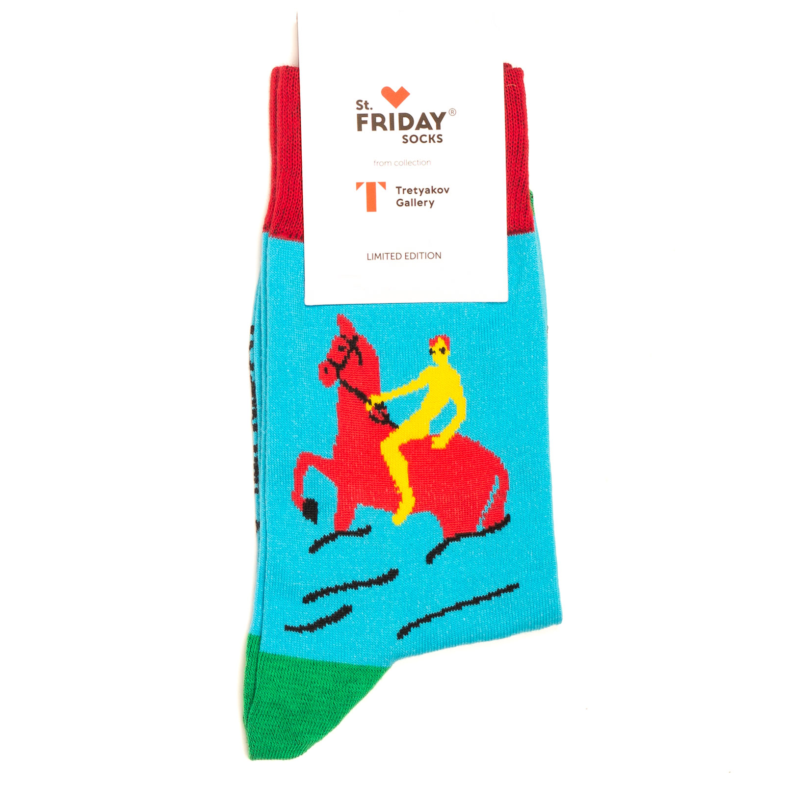 Носки унисекс St.Friday Socks St_Friday_x_Tretyak_Kupan_Kras_Kon голубые 38-41 RU