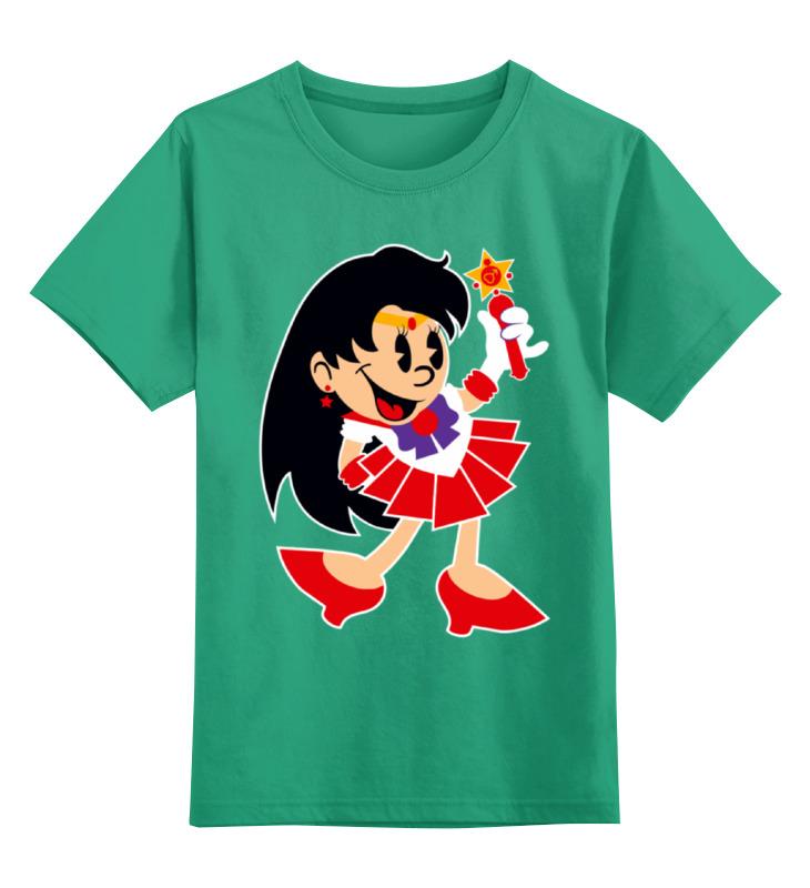 Детская футболка Printio Сейлор мун цв.зеленый р.116 0000002341094 по цене 990