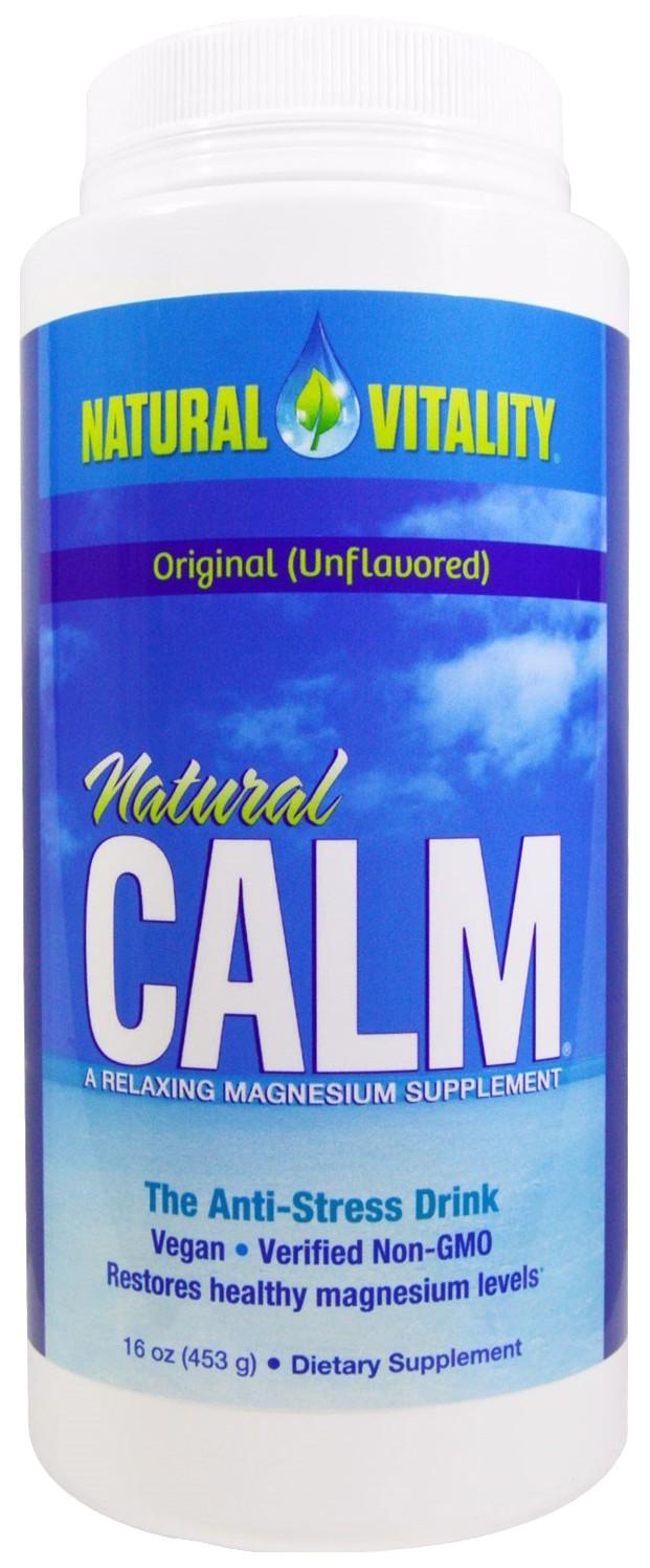 Купить Напиток на основе ионного цитрата магния Natural Calm Natural Vitality 453 г