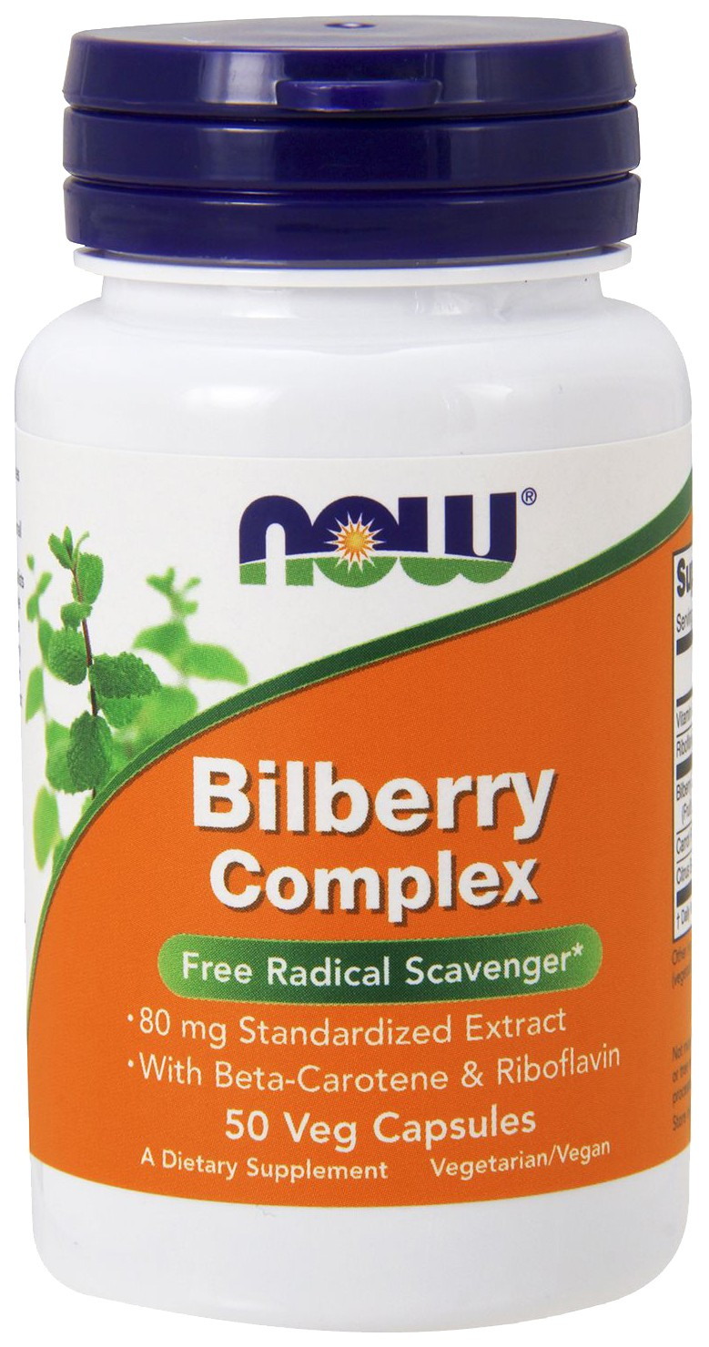 Bilberry Comp Now 80 мг капсулы