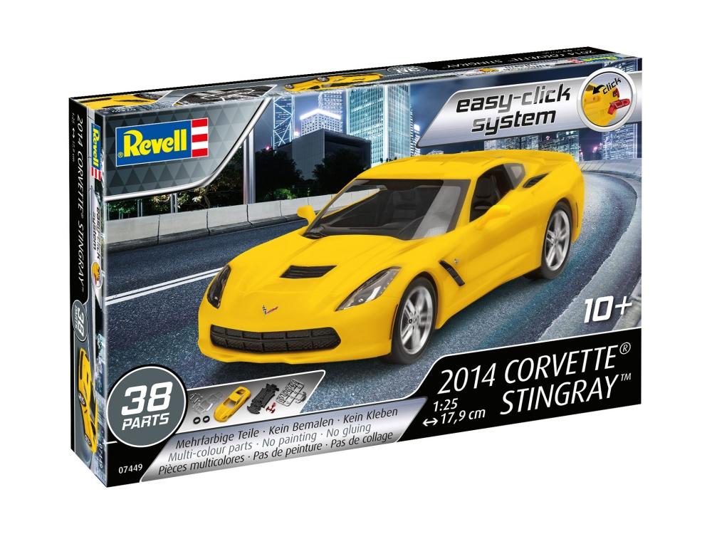 Купить Спортивный автомобиль Corvette Stingray 2014 Revell,