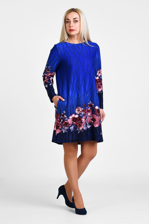 Платье женское OLSI 1905023 коричневое 64 RU
