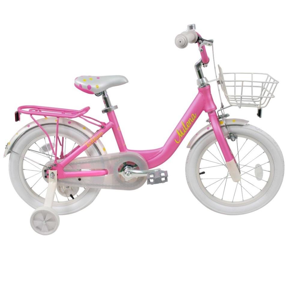 Купить 224045, Детский велосипед Тесh Теаm Мilеnа 16 2020, розовый, Tech Team,