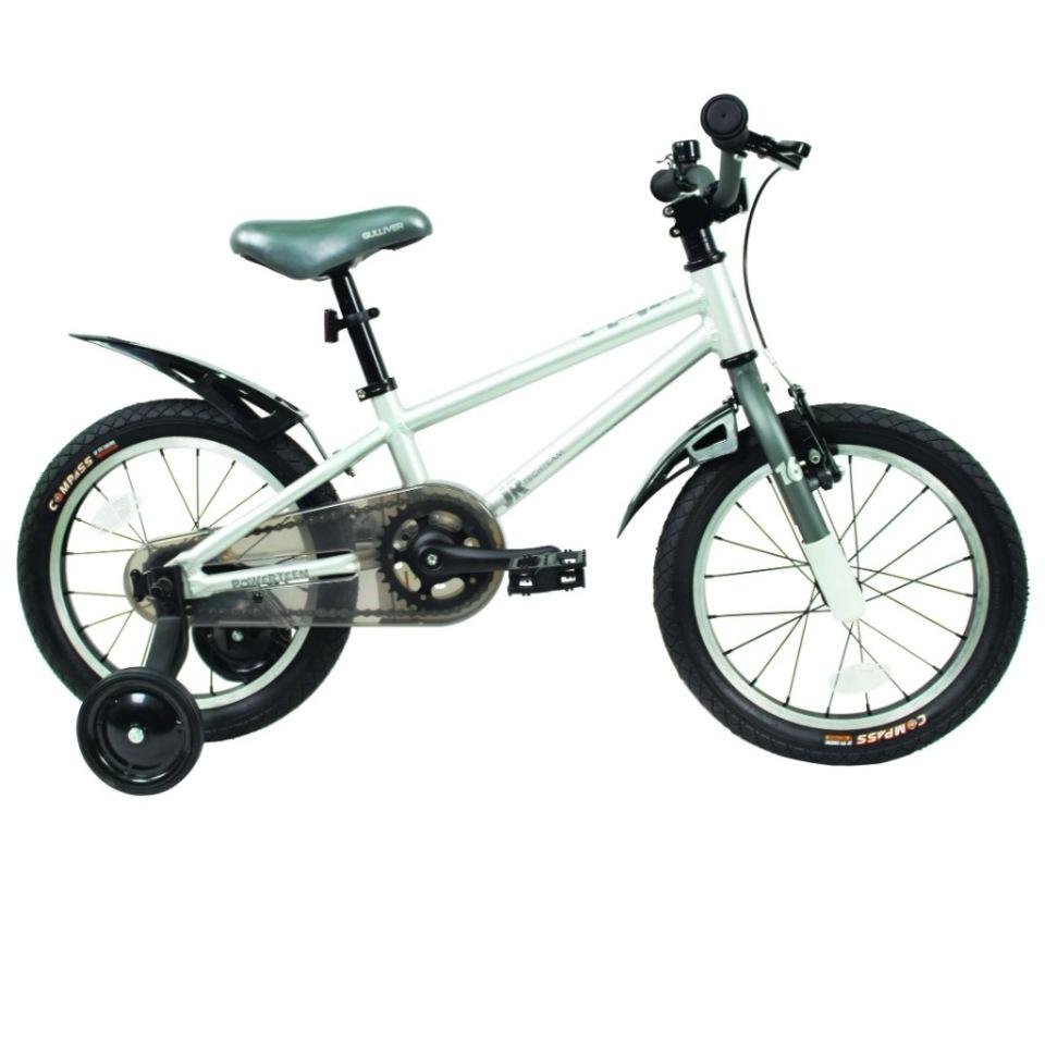 Купить 224050, Детский велосипед Тесh Теаm Gullivеr 18 2020, серый, Tech Team,