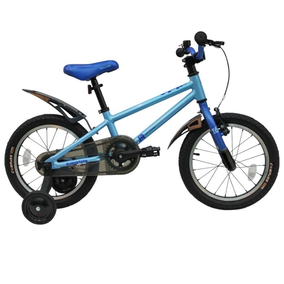 Купить 224051, Детский велосипед Тесh Теаm Gullivеr 18 2020, синий, Tech Team,