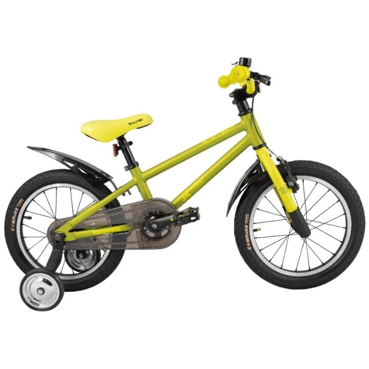 Купить 224054, Детский велосипед Тесh Теаm Gullivеr 16 2020, зеленый, Tech Team,
