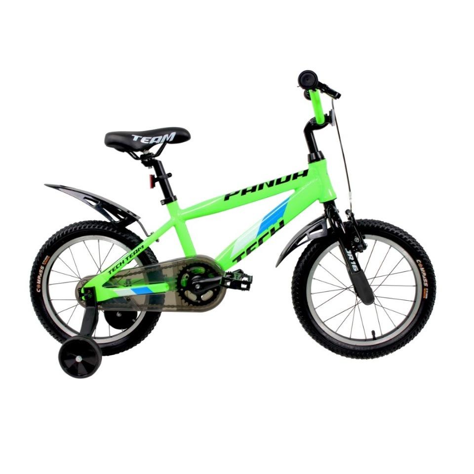 Купить 224055, Детский велосипед Тесh Теаm Раndа 18 2020, неоново-зеленый, Tech Team,