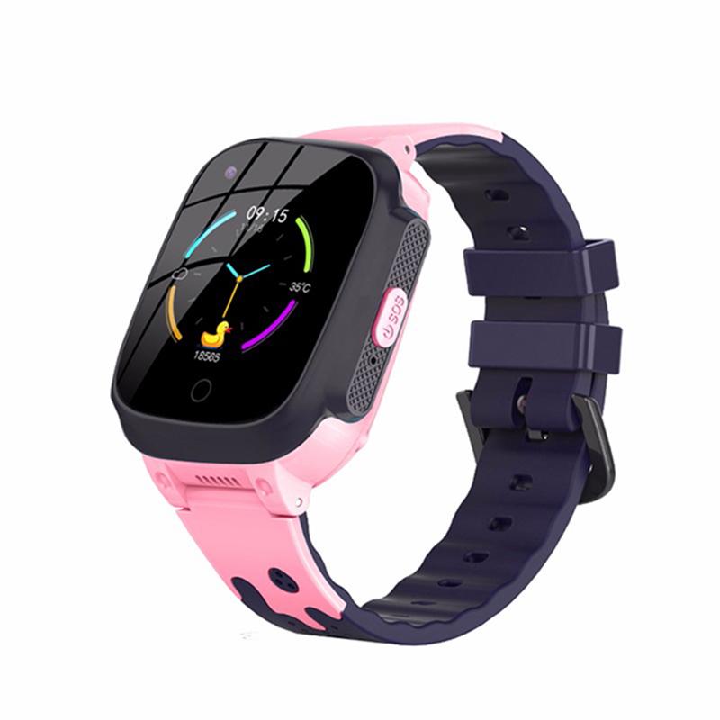 Детские смарт часы Nuobi T8W Blue/Pink