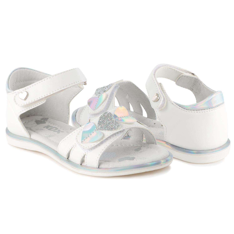 Сандалии для детей Kidix JLS21-26 white белый 30,  - купить со скидкой
